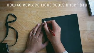 How to replace Film Camera Light Seals For Under $10!