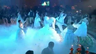 Крутая Свадьба и свадебное платье! Красивый свадебный танец.