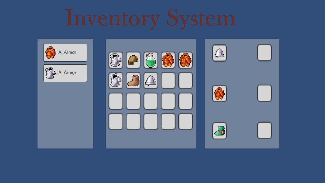 Tutorial: Inventory System with the new UI System 4.6 in