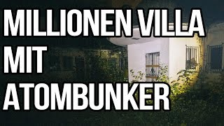 Nazi Villa mit ATOMBUNKER