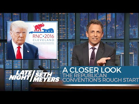 The Republican Convention's Rough Start: A Closer Look