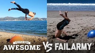 Video People Are Awesome vs. FailArmy | (Yoga Ball Tricks & Flips) download MP3, 3GP, MP4, WEBM, AVI, FLV Oktober 2018