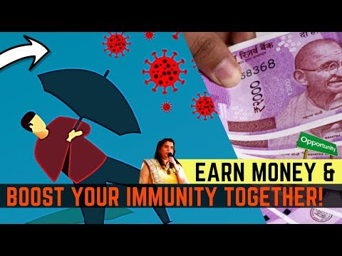 how-to-earn-money-&-boost-your-immunity-together!-how-to-earn-extra-income,-passive-income-in-hindi