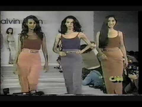 1de33aacc2 Calvin Klein spring summer 1989 - YouTube