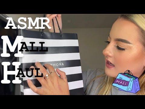 ASMR | Mall Haul (clothes & Makeup!)