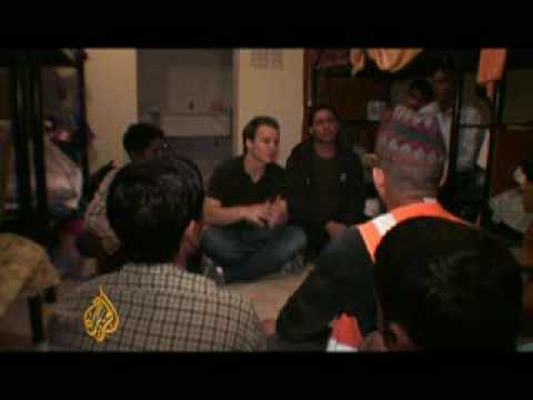 Migrant workers in Qatar go without pay - 10 Apr 09