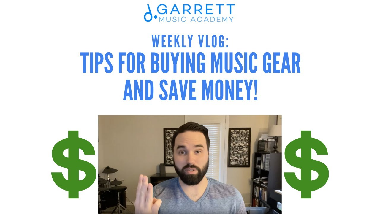 VLOG #8 | Tips for buying music gear and save money!