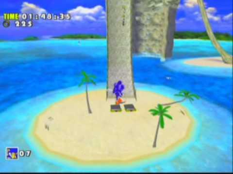 Sonic Adventure DX Director's Cut Game Sample - GameCube