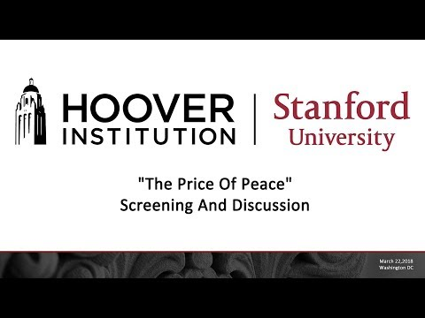"Film discussion: ""The Price of Peace"""