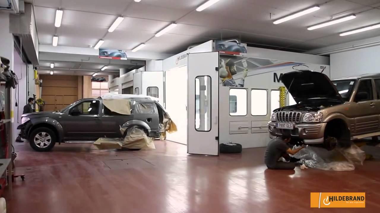 Cabina de pintura y planos aspirantes hildebrand en marauto youtube - Cabina de pintura coches ...
