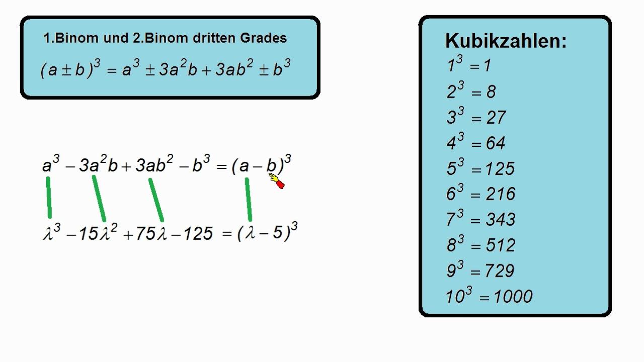 Eigenwerte Und Eigenvektoren Berechnen Dreifacher Eigenwert