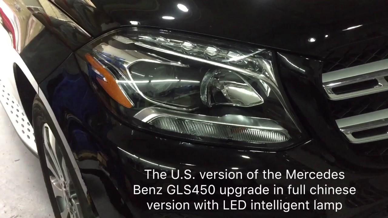 Mercedes Benz Gls450 >> Mercedes Benz W166, GLS450, gls400 halogen headlight