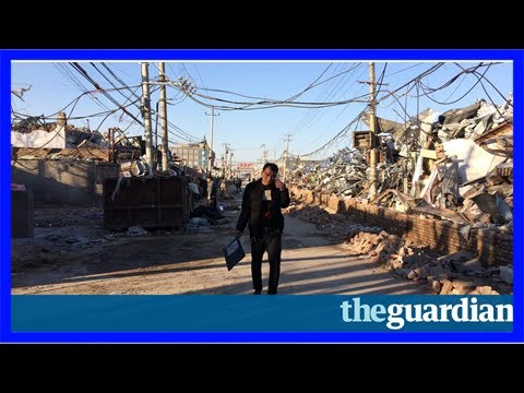 The gentrification of beijing: razing of migrant villages spells end of china dream