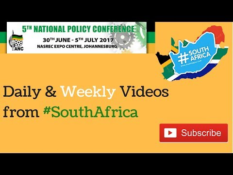 ANC Policy Conference #SouthAfrica News Report