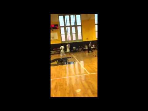 Daniel Bajtel 2014-2015 Basketball Highlights , James Madison HS