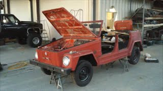 30 Years Forgotten in a Shipping Container - First Start 1973 VW !!!