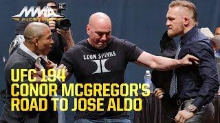 UFC 194: Conor McGregor's Road to Jose Aldo