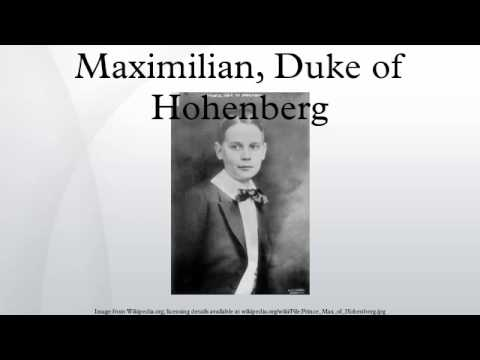 Maximilian, Duke of Hohenberg