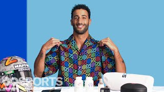 10 Things Formula 1 Driver Daniel Ricciardo Can't Live Without | GQ Sports