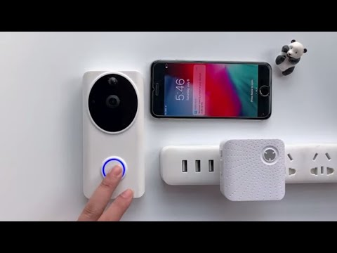 How To Connect Tosee Plus Wifi Video Doorbell