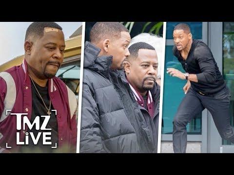 Will Smith & Martin Lawrence Filming 'Bad Boys 3' | TMZ Live