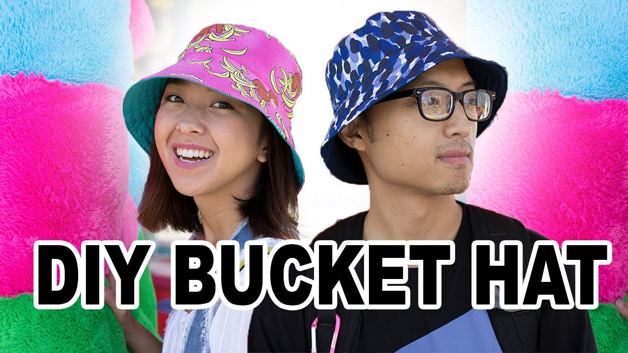 Diy Bucket Hat Thrifted Transformations Ep 73