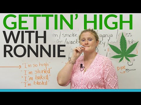GETTING HIGH with Ronnie!