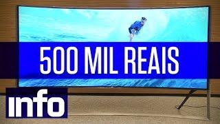 Conheça a TV 4K de 500 mil reais da Samsung