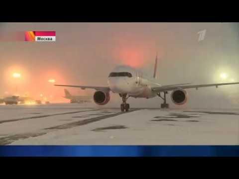 Смотреть Снегопад в Москве, деревья валятся на машины. 04.02.2018. онлайн