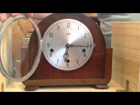 Smiths Enfield Mantel Clock - Westminster Chimes.