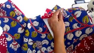 How to Nighty cutting and stitching நைட்டி மாடலாக தைப்பது,