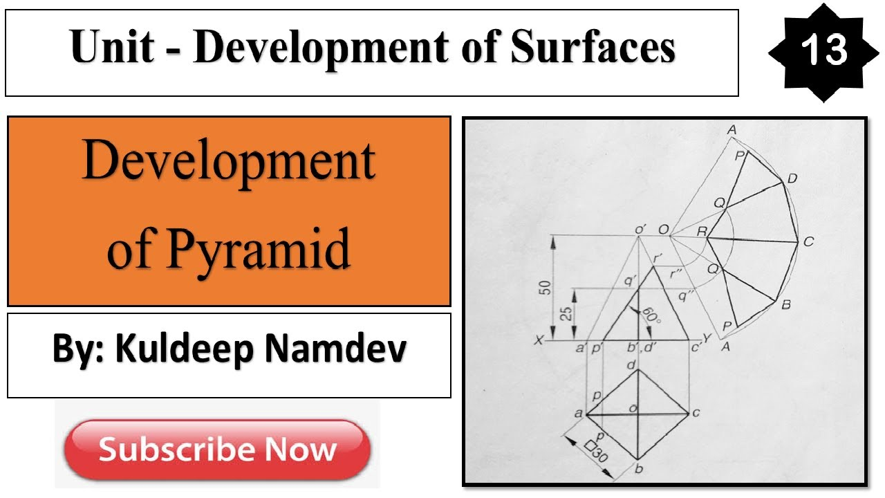 Development of surfaces(13)| Development of surfaces in ...