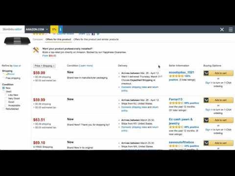 Gratr - Amazon to Amazon FBA arbitrage with keyword search (tutorial)