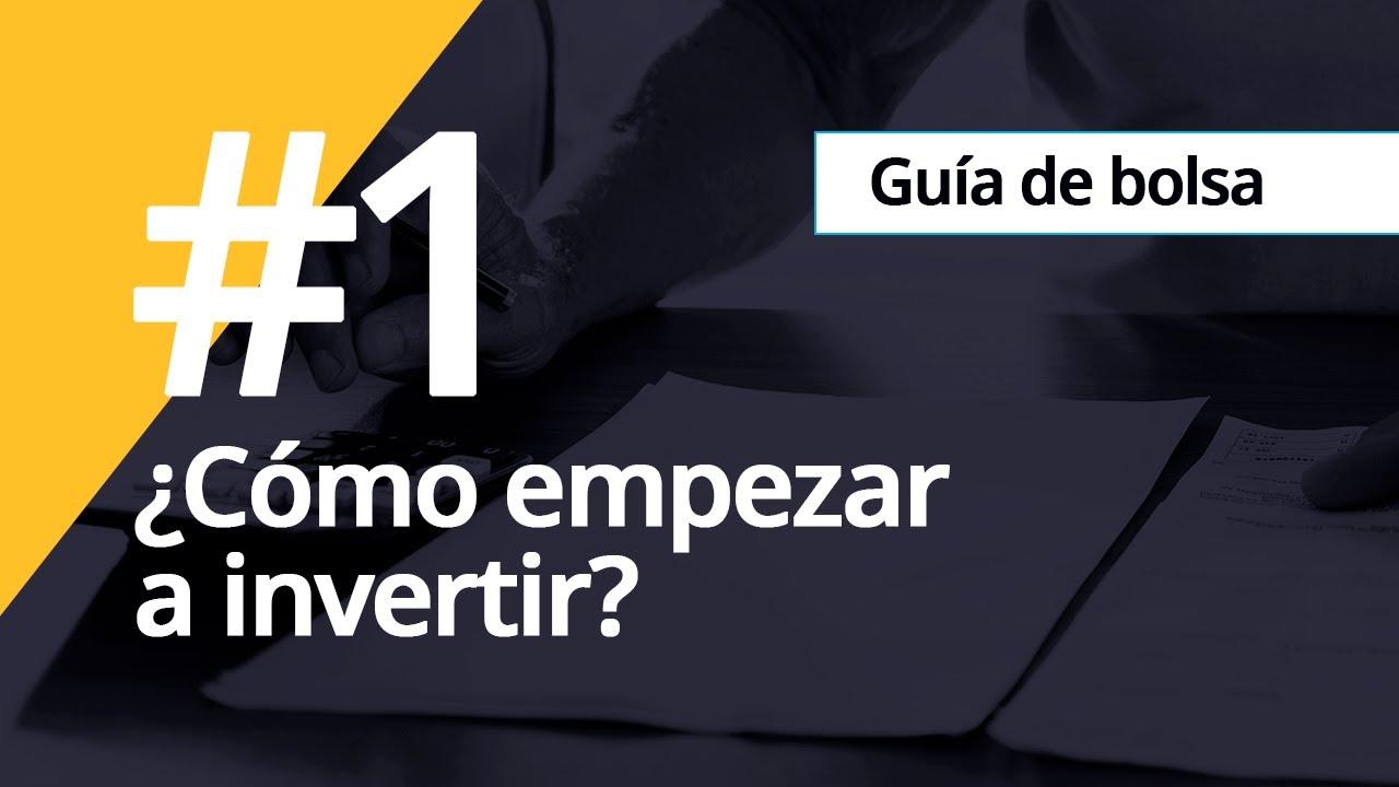 Cómo invertir en Bolsa: herramientas para novatos   Invertir