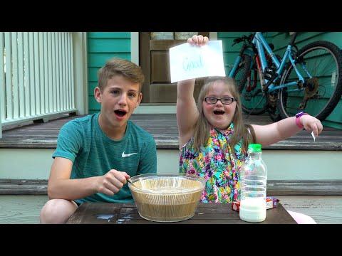 Weird Cereal Challenge!  (MattyBRaps vs Sarah Grace)