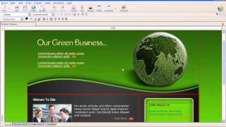 criar um site profissional em html | editando templates