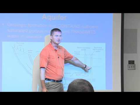 Basics of Groundwater Hydrology by Dr. Garey Fox
