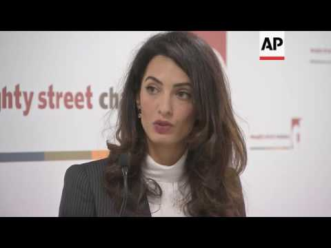 Amal Clooney: autocracy and extremism growing