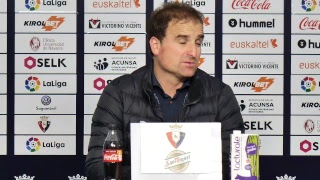 Ruedas de prensa tras el Osasuna - Zaragoza | 23.2.19