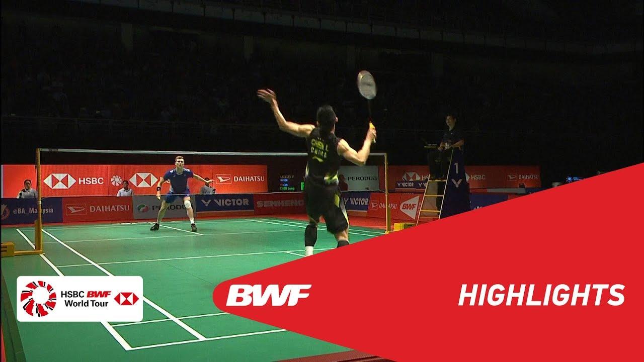 PERODUA Malaysia Masters 2019  MS - SF - HIGHLIGHTS  BWF