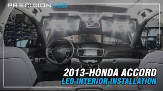 Honda Accord LED Interior How To Install - 9th Generation | 2013-Present