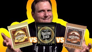 Ernie Ball Acoustic Strings Comparison | Which are the Best Acoustic Guitar Strings?
