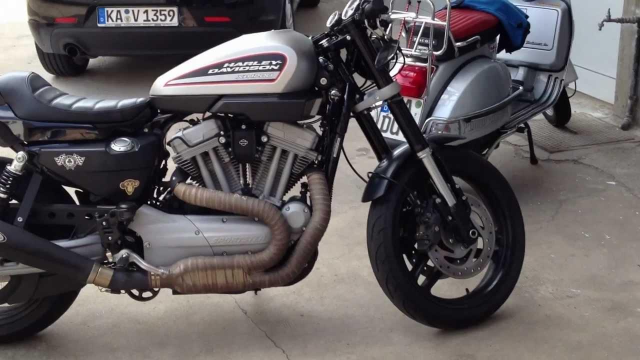 Xr 1200 Cafe Racer By Swen Youtube