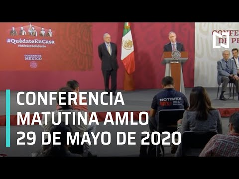 Conferencia matutina AMLO/ 29 de mayo de 2020