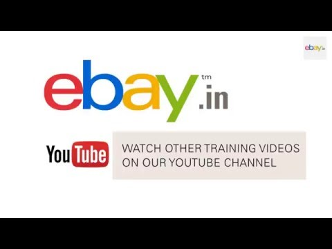 Managing Inventory Using File Exchange on eBay.in
