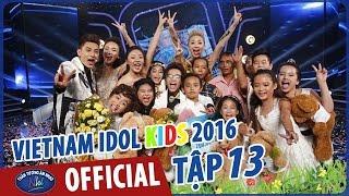 Vietnam Idol Kids - Thần Tượng Âm Nhạc Nhí 2016 Chung Kết Full HD