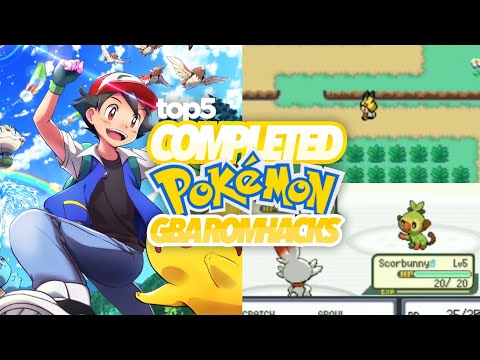 Top 5 Completed Pokemon Gba Rom Hacks 2019!!