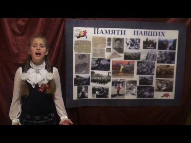 Изображение предпросмотра прочтения – ЕленаЛякаева читает отрывок изпроизведения «Реквием» Р.И.Рождественского