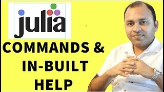 Working and managing Julia Environment and using Julia in built Help