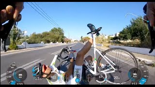 road cycling crash 2016   gopro